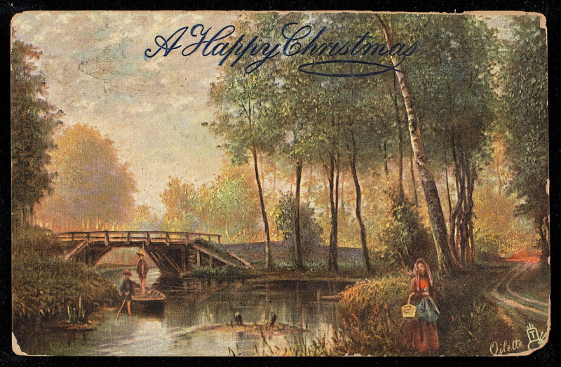 Carte postale ancienne A Happy Christmas (NBY 443154)
