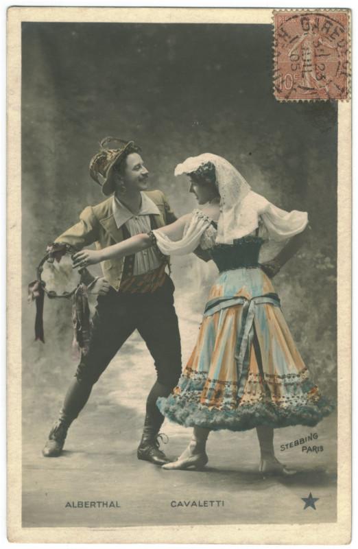 Carte postale ancienne Alberthal & Cavaletti Etoile. 793-81. Photo Stebbing