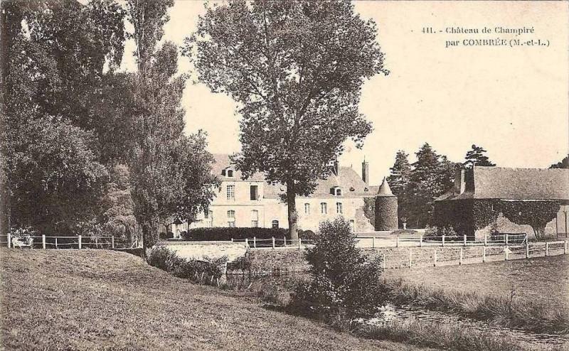 Carte postale ancienne Chateau de champiré à Ombrée d'Anjou