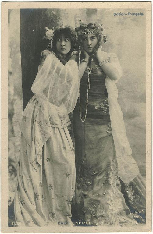 Carte postale ancienne DALTI, Mitzi SIP. 87-20. An d Sorel (Odéon-Française). Photo Reutlinger à