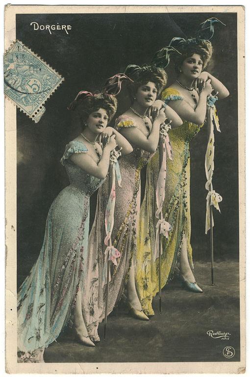 Carte postale ancienne DORGERE, Arlette SIP. 1442. Photo Reutlinger à