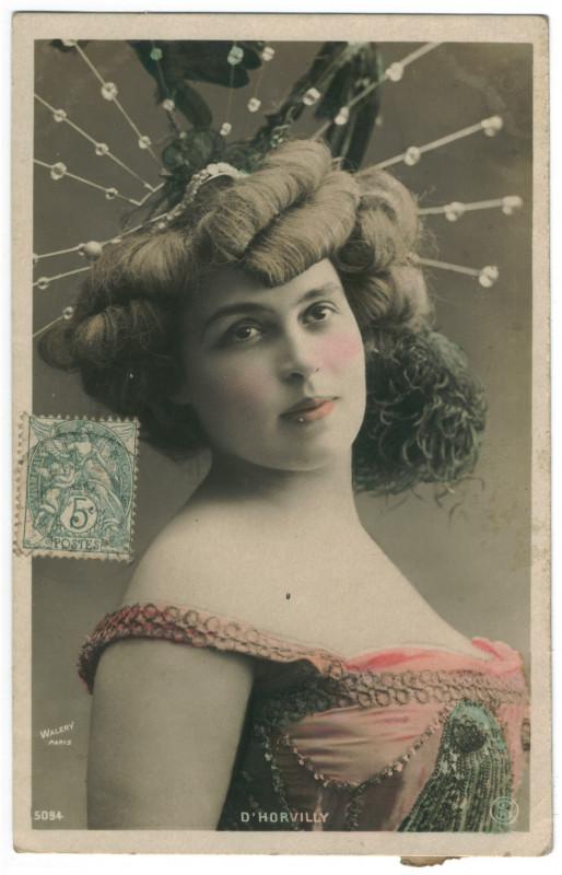 Carte postale ancienne HORVILLY, Lucette d' SIP. 5094. Photo Waléry à