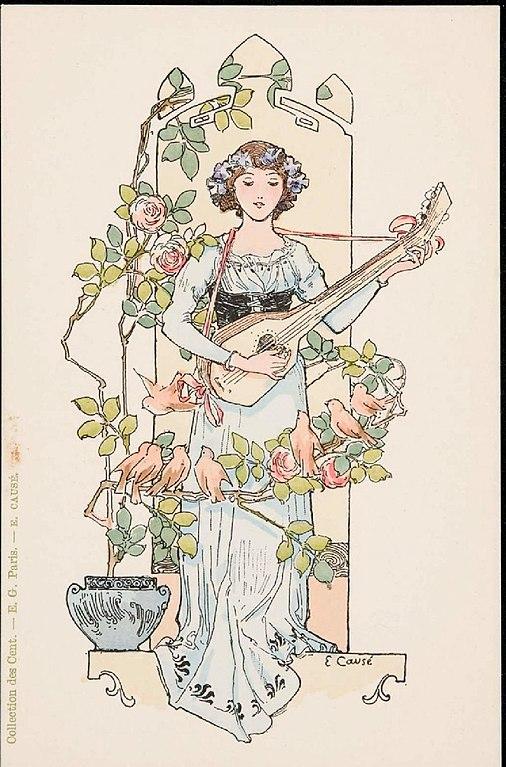 Carte postale ancienne Collection des Cent N° 48 (Causé) à