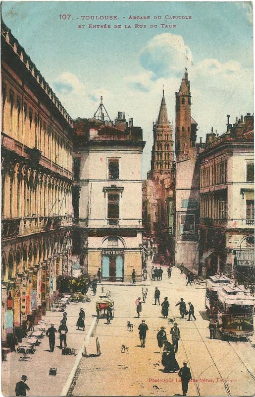 Carte postale ancienne Toulouse-Cp-07 à Toulouse