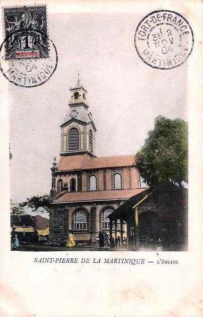 Carte postale ancienne Eglise Saint-Etienne-du-Centre