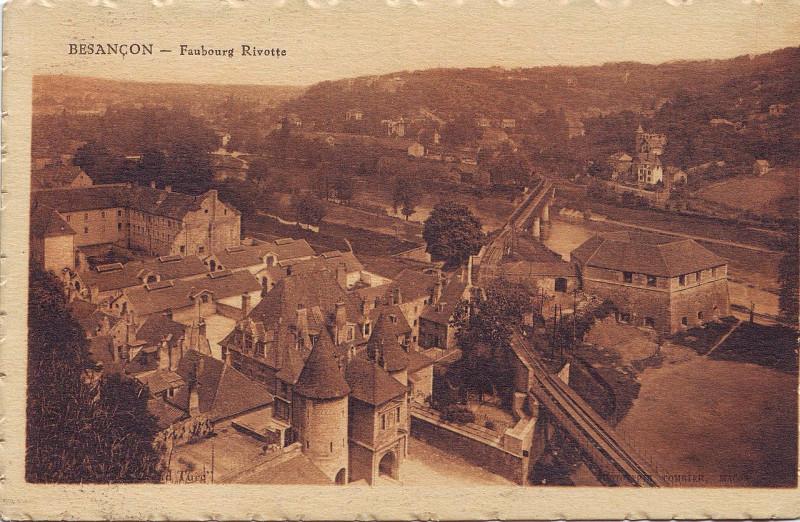 Carte postale ancienne Ancienne carte postale Besançon Rivotte à Besançon