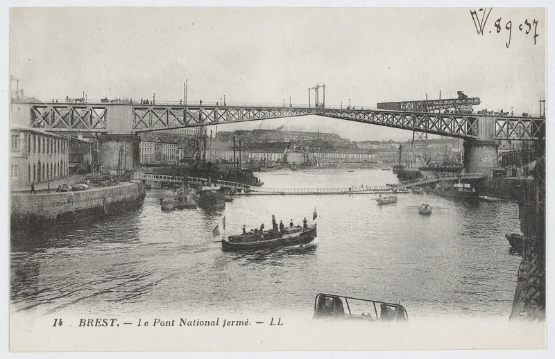 Carte postale ancienne Brest Btv1b8470108n-49 à Brest