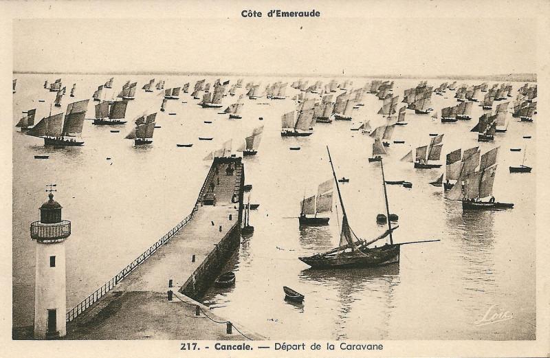 Carte postale ancienne Cancale-Fr-35-carte postale-01 à Cancale