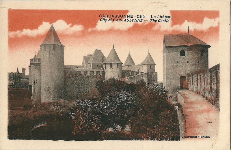 Carte postale ancienne Carcassonne-11-Cp Combier-A01 à Carcassonne