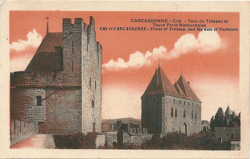 Carte postale ancienne Carcassonne-11-Cp Combier-A03 à Carcassonne