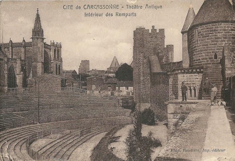 Carte postale ancienne Carcassonne-11-Cp Roudière-FG02 à Carcassonne