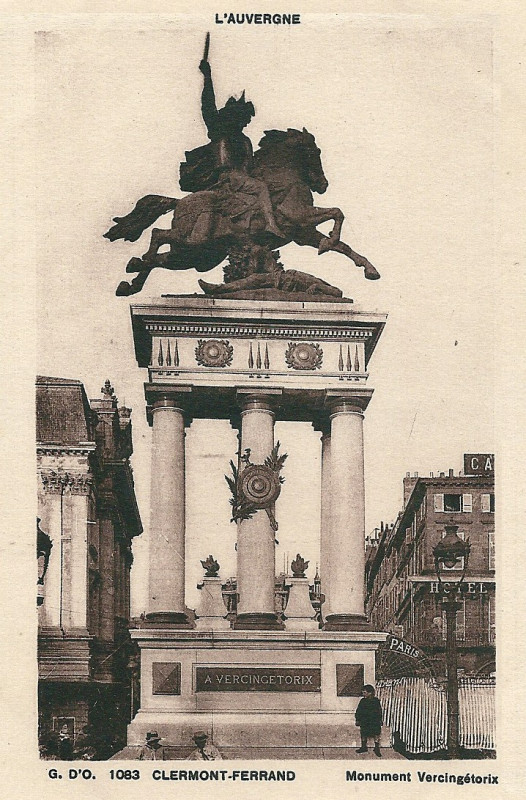 Carte postale ancienne Vercingétorix-Cp-22 à Clermont-Ferrand