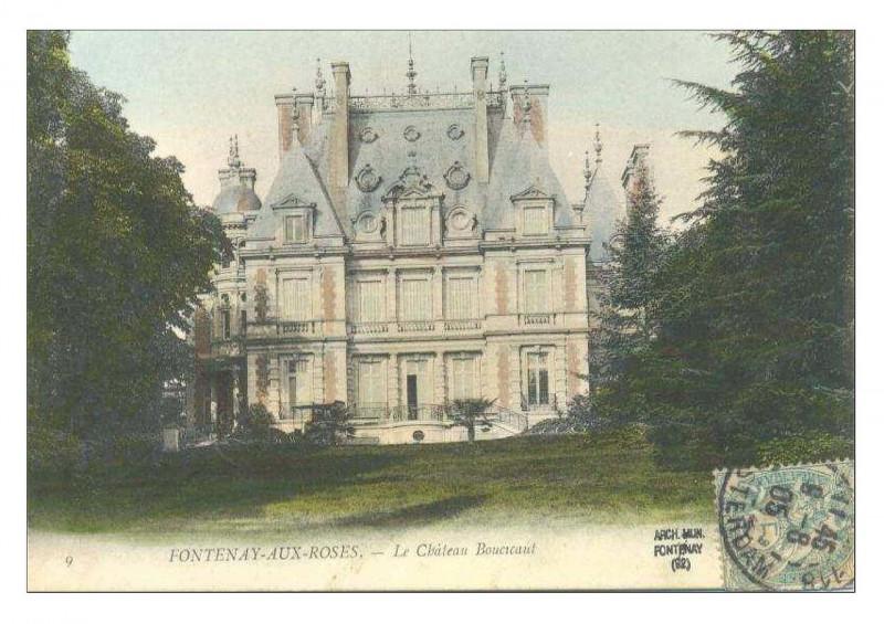 Carte postale ancienne Marguerite Boucicaut, 003 à Fontenay-aux-Roses