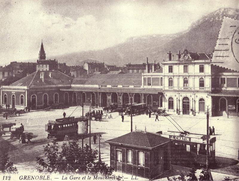 Carte postale ancienne Grenoble - Plm - 1901 à Grenoble
