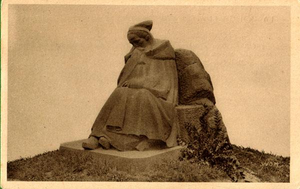 Carte postale ancienne Tréguier. Carte postale. Monument aux Morts. Yvon à Tréguier