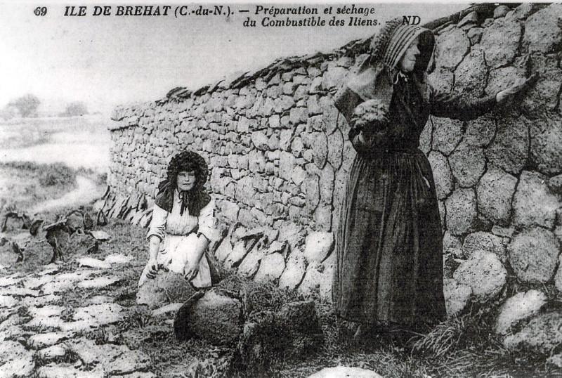 Carte postale ancienne Brittanydung à