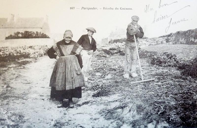 Carte postale ancienne 468 Porspoder à Porspoder