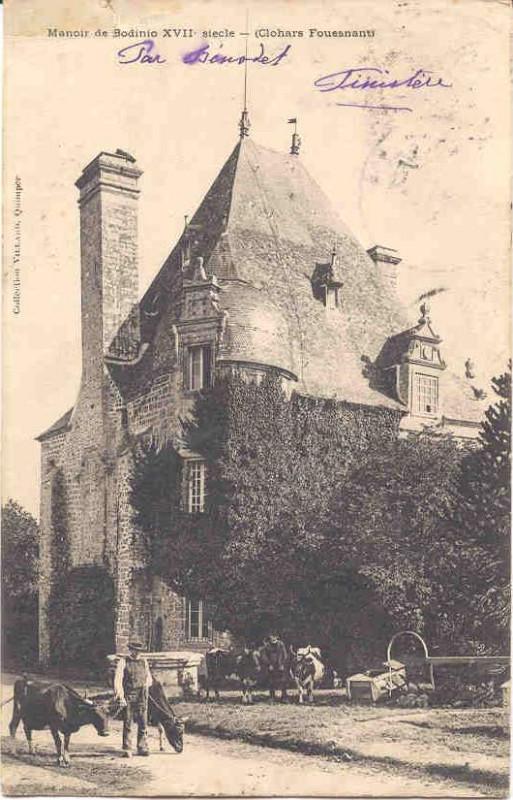 Carte postale ancienne Bodinio 04r à Clohars-Fouesnant