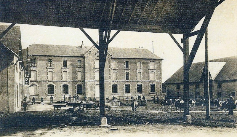Carte postale ancienne Kerbernès Plomelin à Plomelin