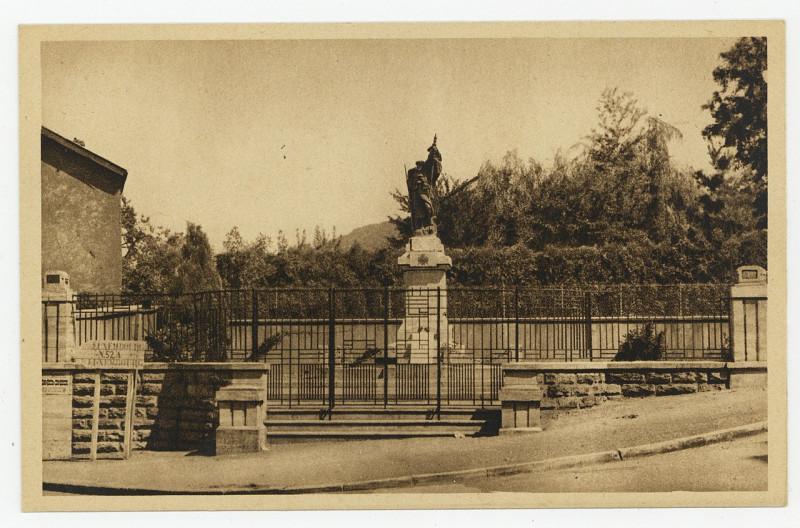 Carte postale ancienne Monument aux Morts P-Fg-Cp-00938