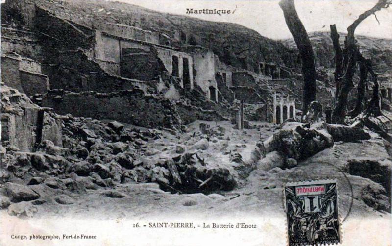 Carte postale ancienne Batterie d'Esnotz 1902