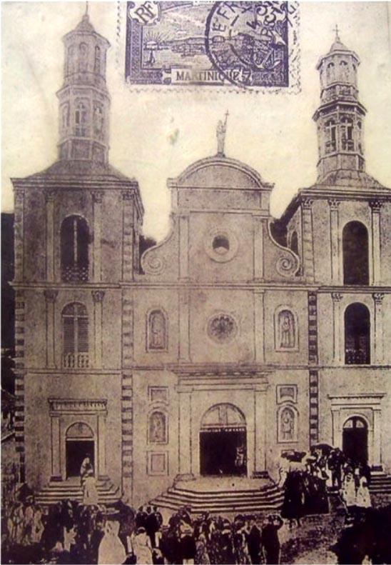 Carte postale ancienne Cathédrale Notre-Dame-du-Bon-Port
