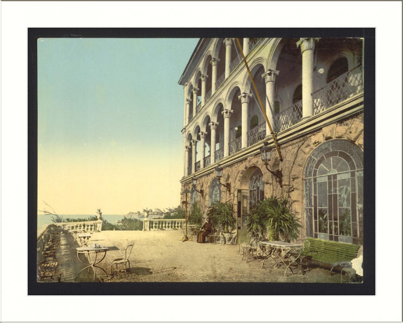Carte postale ancienne La Reserve de Roubion Marseilles France à Marseille