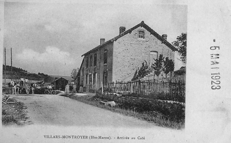 Carte postale ancienne Villars montroyer 73082 à