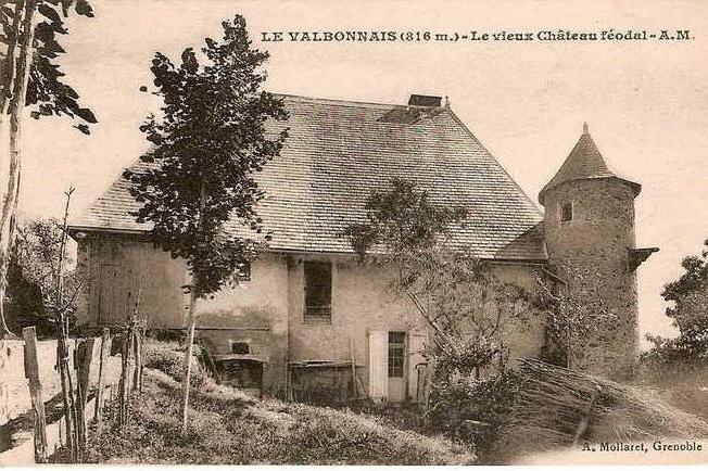 Carte postale ancienne ChateauValbonnaisNicolleau à