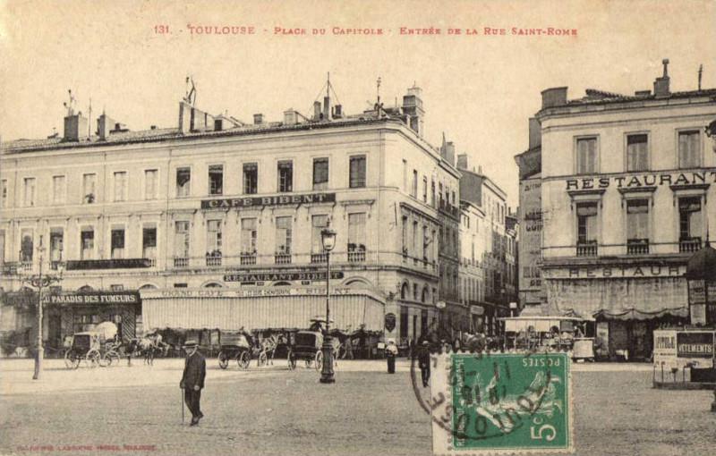 Carte postale ancienne P548-394 à Toulouse