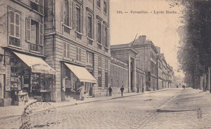 Carte postale ancienne Lycée Hoche à Versailles