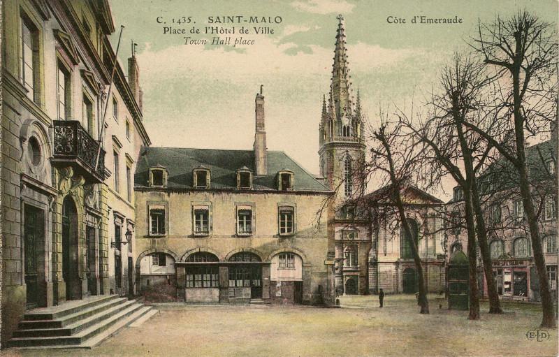 Carte postale ancienne Saint-Malo-Fr-35-avant 1914-A03 à Saint-Malo