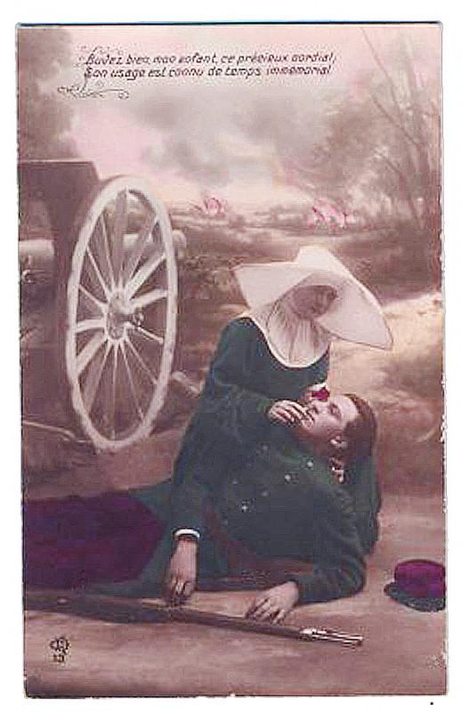 Carte postale ancienne 01 Un vin cordial