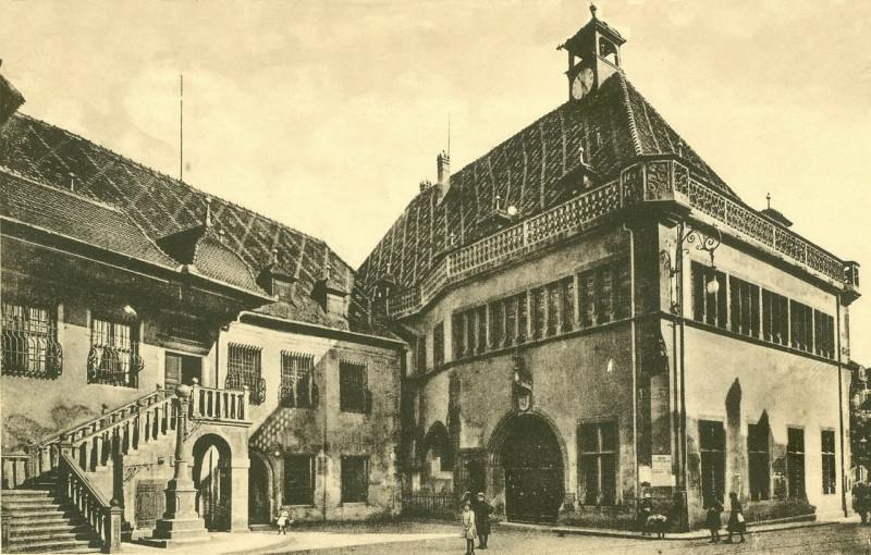 Carte postale ancienne Colmar ~ 1900. Stara carina. à Colmar