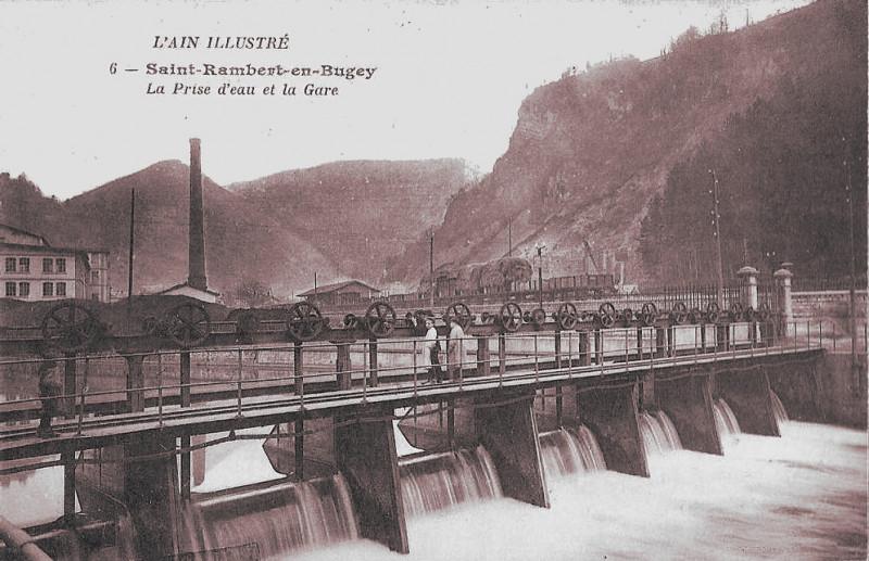 Carte postale ancienne Schappe de Saint-Rambert 18 à Saint-Rambert-en-Bugey