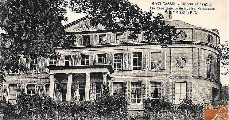 Carte postale ancienne Château Vandamme à Cassel (Nord) (1) à Cassel