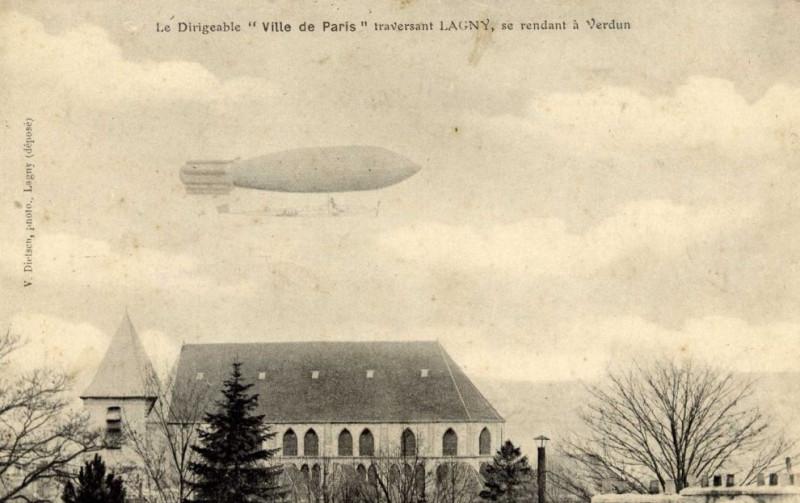 Carte postale ancienne L1776- Lagny-sur-Marne - Abbatiale Notre-Dame-des-Ardents et Saint-Pierre à