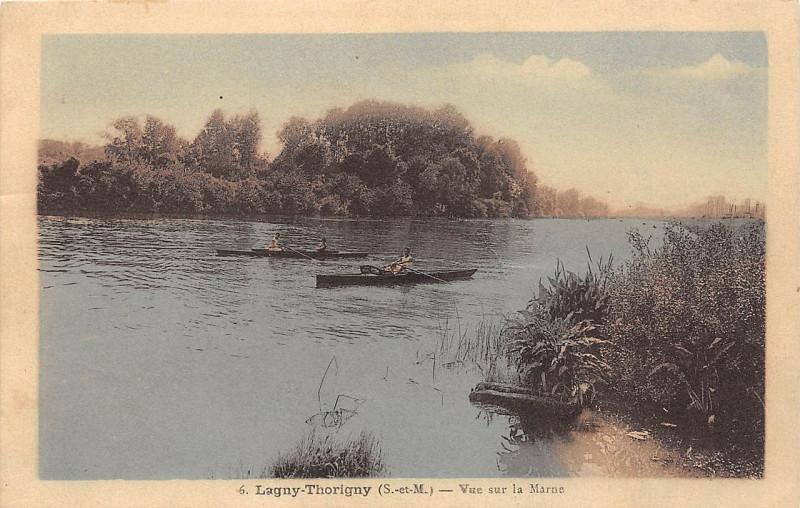 Carte postale ancienne L2435 - Lagny-sur-Marne - Bords de Marne à