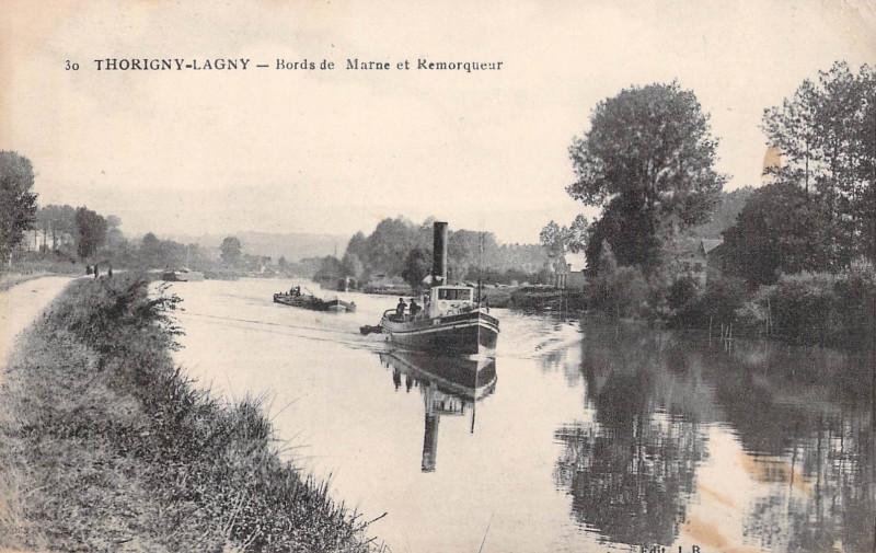 Carte postale ancienne L2436 - Lagny-sur-Marne - Bords de Marne à