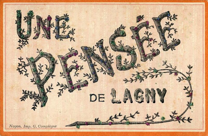 Carte postale ancienne L3073 - Lagny-sur-Marne - Carte postale ancienne à