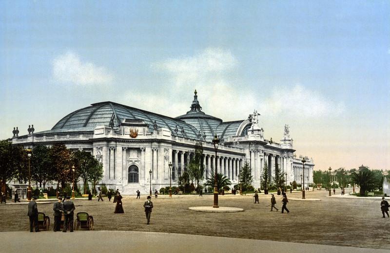 Carte postale ancienne The Grand Palace, Exposition Universal, 1900, Paris, France 2 à Paris 8e