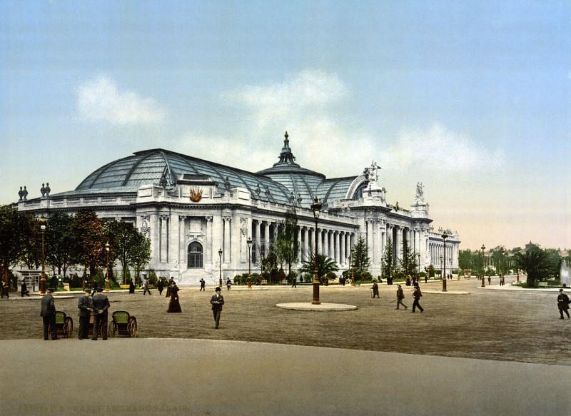 Carte postale ancienne The Grand Palace, Exposition Universal, 1900, Paris, France à Paris 8e