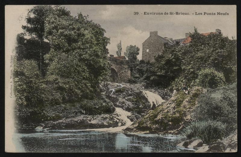 Carte postale ancienne Hillion - Les Ponts-Neufs - AD22 - 16FI6936 à Hillion