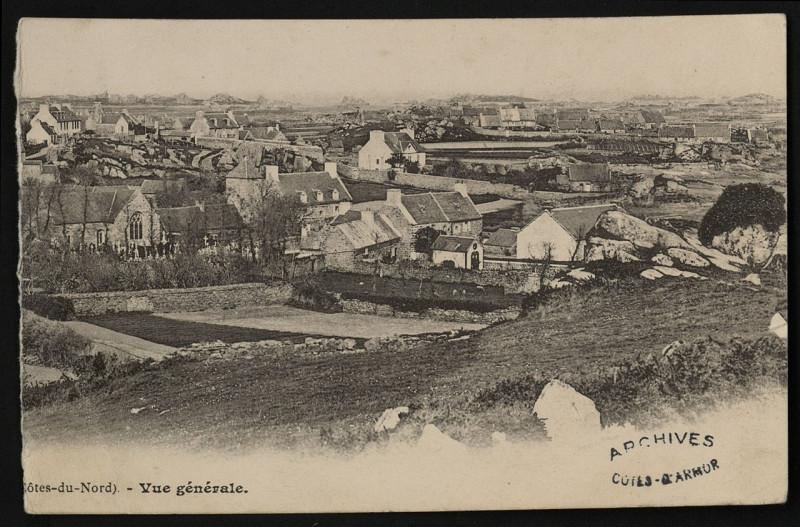 Carte postale ancienne Ile-de-Bréhat - Vue générale - AD22 - 16FI484 à Île-de-Bréhat