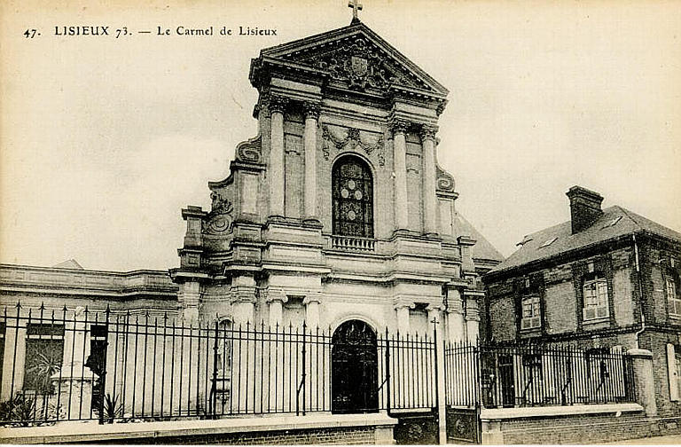 Carte postale ancienne Carmel Lisieux
