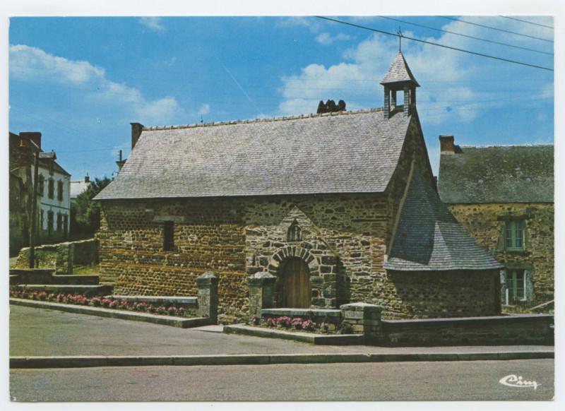 Carte postale ancienne Langon (I.-et-V.) - La Chapelle Ste-Agathe.