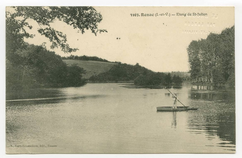 Carte postale ancienne 3163 Renac (I.-et-V.) - Etand de St-Julien.