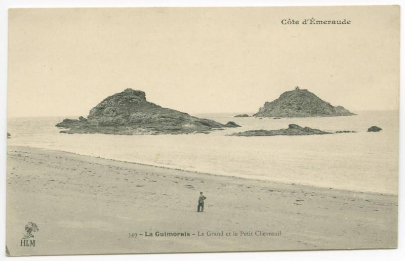 Carte postale ancienne 349 - La Guimorais - Le Grands et le Petit Chevreuil: Côte d'Emeraude