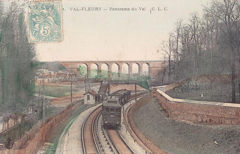 Carte postale ancienne Clc 1 - Val-Fleury - Panorama du Val à Meudon