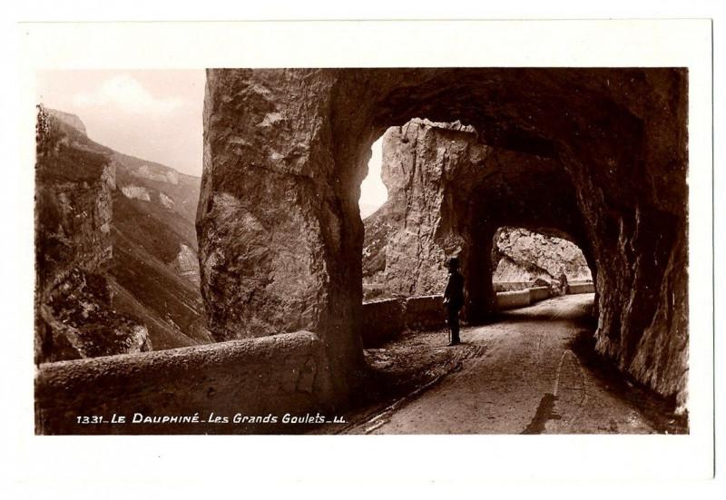 Carte postale ancienne Le Dauphiné - Les Grands-Goulets à Saint-Martin-en-Vercors